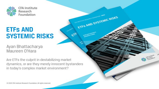 Ad for ETFs and Systemic Risks